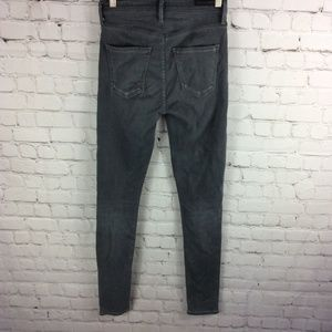 Citizens Of Humanity Jeans - COH The Rocket High Waist Crop Jeans Gray Size 24